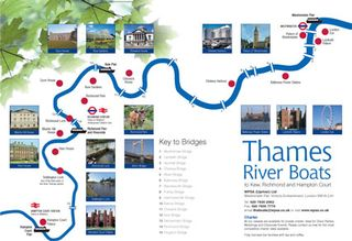 River boat map