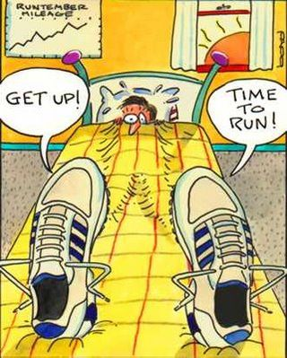 Get up Time to run