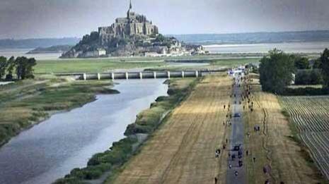 Le Marathon du Mont St Michel