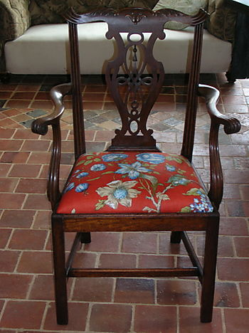 Georgian Chair with drop-in seat