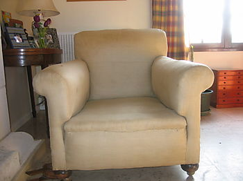 Large Armchair before