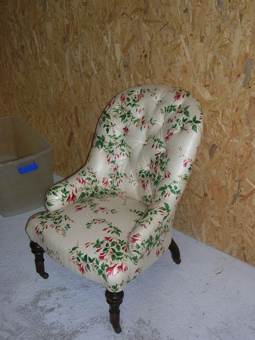 Victorian Ironframe chair